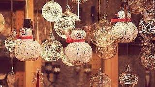 Симпатичные игрушки на новый год и елку своими руками