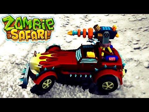 МАШИНЫ против ЗОМБИ zombie safari 40 МАШИНКИ ДЛЯ МАЛЬЧИКОВ VIDEOS FOR KIDS game car игра как мультик