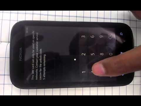 lumia 510 unlock problem