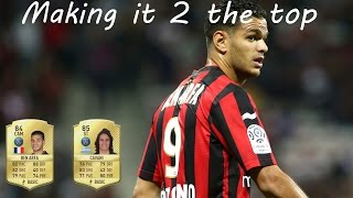 Fifa 17 | Making it 2 the top | #6 | Ben Arfa what a beast!. Hybrid squad 130k