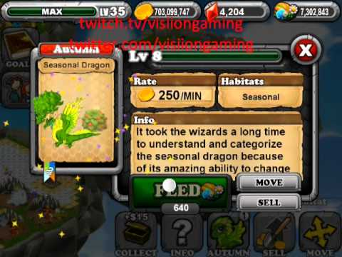 DragonVale How to Breed a Seasonal Dragon