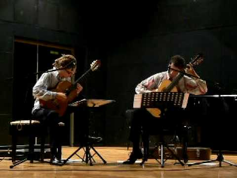 Anselmo Aieta - Corralera (arr.Jorge Morel) played by duo Shiwe