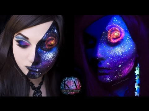 Galaxy Makeup Tutorial