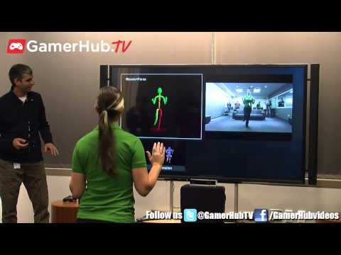 Xbox One New Kinect Hands On Demo At Microsoft Headquarters - Gamerhubtv