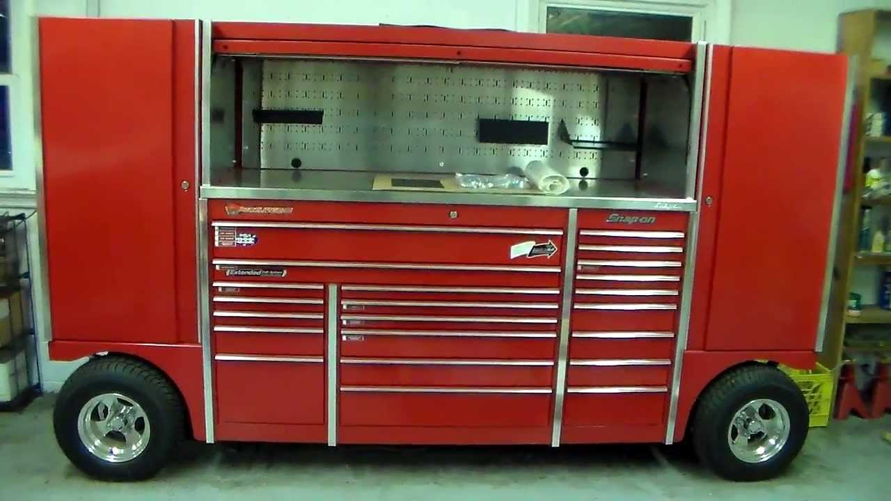 Snap On Tool Wagon For Sale Youtube