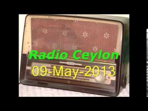 Tribute to Talat Mahmood-2~Radio Ceylon 09-05-2013~Morning~Part-5
