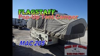 Pop Up Camper Gasgrill : Used forest river flagstaff hw sc popup camping trailer for