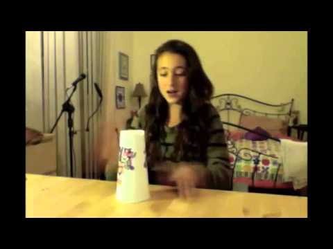 Cup Song-Pitch Perfect (Cover by Shayanne Jaff)