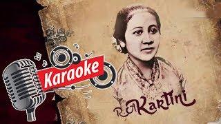 Ibu Kita Kartini - Karaoke [OFFICIAL]