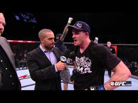 UFC on FX 7 CB Dollaway PostFight Interview