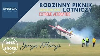 Jurgis Kairys - best moments - extreme aerobatics