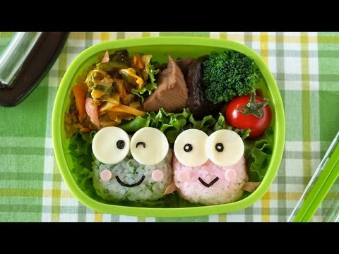 how to make kero kero keroppi bento lunch box recipe. Black Bedroom Furniture Sets. Home Design Ideas