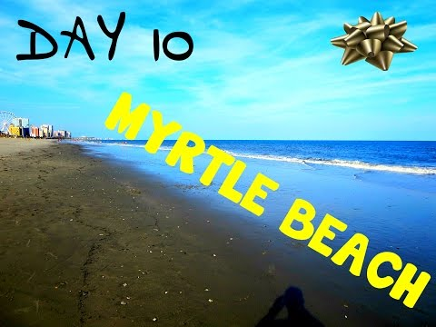 Day # 10 of 32: Myrtle Beach: Freestyle Rap, Hotel Tour, Pawn Shops, Thrift Stores