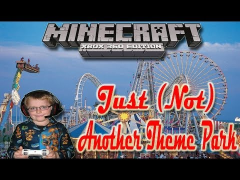 Minecraft Xbox 360 Just Another Theme Park Map + Download