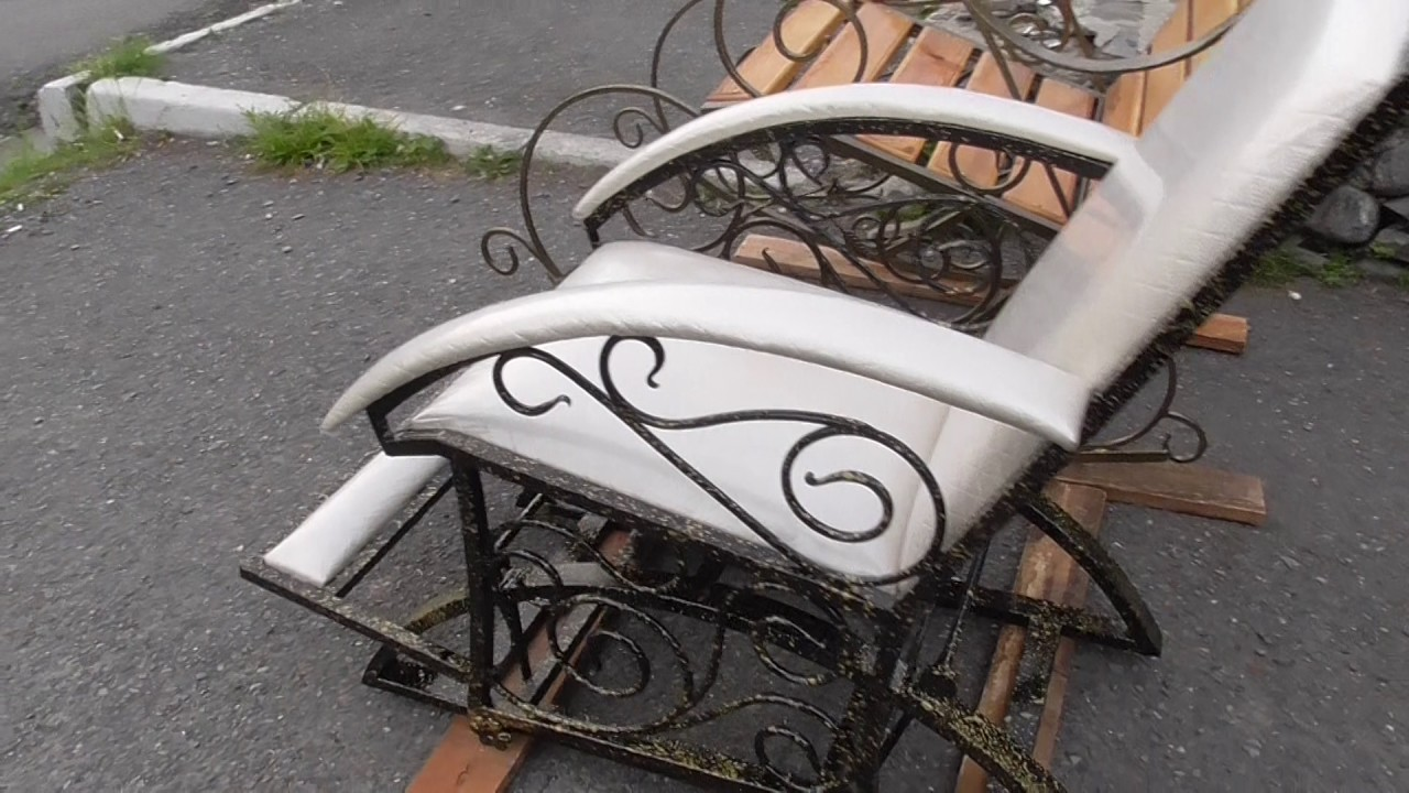 Кресло качалка своими руками на маятниках