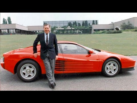 Sergio Pininfarina - Designer of the Ferrari 250 GTO, Dino & Testarossa - Wide Open Throttle Ep. 24