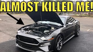 I LOST CONTROL: Review BUILT TWIN TURBO 2018 MUSTANG GT!