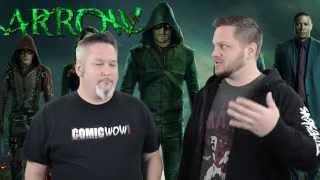Comics on TV Episode 4 part 2, Oct. 2014 a ComicWow! Original Arrow Flash Marvel Shield