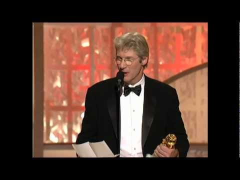 Richard Gere Wins Best Actor Motion Picture Musical Or Comedy - Golden Globes 2003
