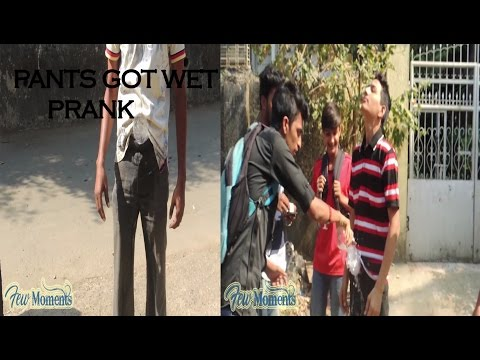 Pants Got Wet Prank | Few Moments | Pranks in India