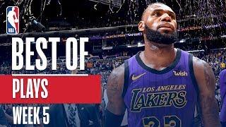 NBA's Best Plays | Week 5