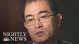 North Korean Defector To Lester Holt: I