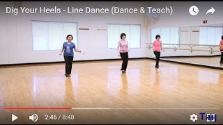Dig Your Heels - Line Dance (Dance & Teach)
