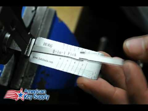 Lishi 2-in-1 Pick/Decoder In-Depth Tutorial