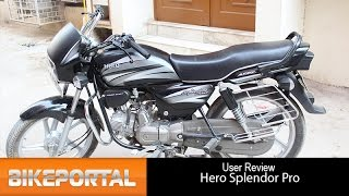 Hero Splendor Pro User Review Best mileage Bikeportal