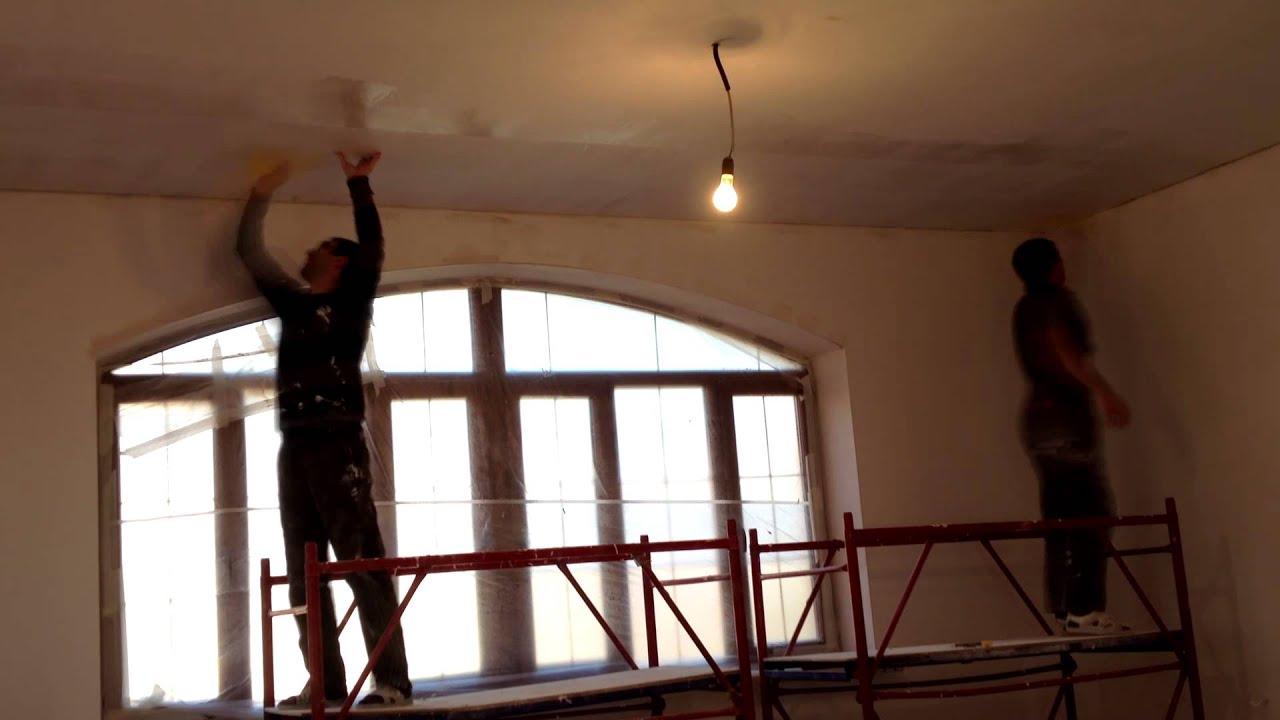 Как сделать потолок чтобы не трескался