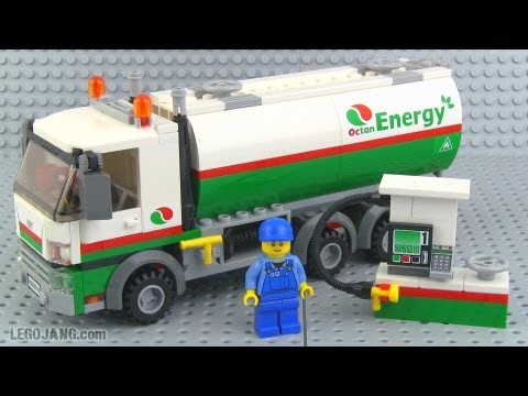 LEGO City Tanker Truck 60016 review!