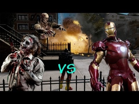 GTA IV Zombie Apocalypse Mod - Episode 1 - Iron Man vs Zombies