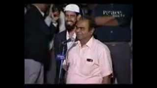 Kissing the Black Stone!! Dr Zakir Naik (Urdu)