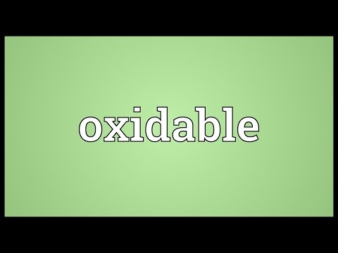 Header of oxidable