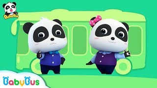 Little Panda Bus Driver | Bus Story, Car Song | Kids Role Play | BabyBus
