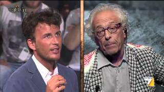 Scontro Mughini vs Fusaro: 'Poveraccio! Filosofo dei luoghi comuni!'