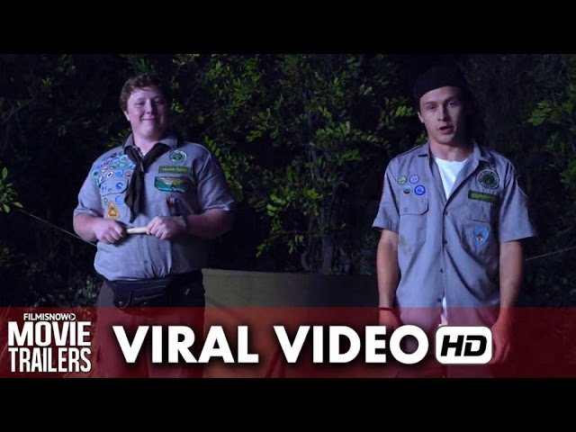 "Scouts Guide to the Zombie Apocalypse Viral Video ""How to Erect a Tent"" (2015) HD"