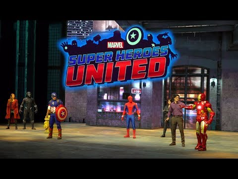 Marvel Super Heroes United FULL Stunt Show - World Premier - Disneyland Paris