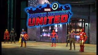 Marvel Super Heroes United FULL Stunt Show - World Premier - Disneyland Paris