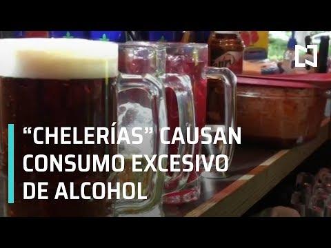 'Chelerías' provocan consumo excesivo de alcohol en CDMX - En La Mira