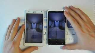 LG Optimus 4X HD v HTC One X - Quad-Core Android Smartphone Hands on Comparison