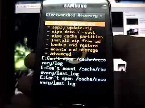 How to flash CyanogenMod 7 - Galaxy Mini
