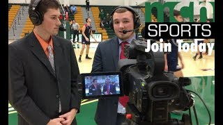 Interested in Sports Broadcasting? Join Mason Cable Sports Today!