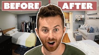 Surprise $2,800 Studio Apartment Makeover  • Try DIY