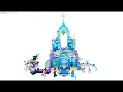 LEGO Disney Elsa's Magical Ice Palace review 👸⭐ 41148