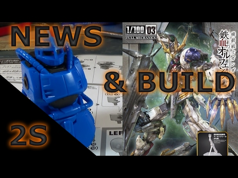 BARBATOS REX & LITERALLY THE BEST HG EVER - Gunpla Build & News (HG Bugu)