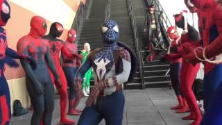 "The Spider-Verse takes over ""Winter Con"" 2015"