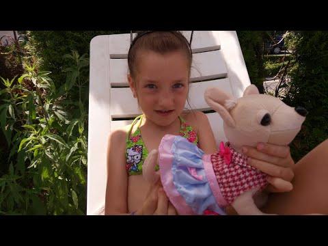 Идем с собачкой на море , в бассейн и аквапарк .Последний день в Болгарии .