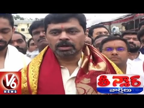 TDP MP CM Ramesh Not To Shave Till Kadapa Gets Steel Plant | Teenmaar News