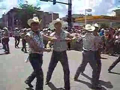 Gay Cowboys at Chicago Pride 08 Video